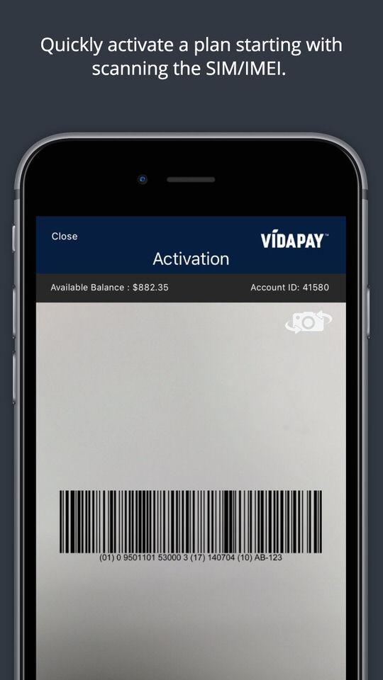 VidaPay Activation