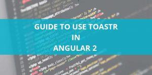 Angualr2-toastr