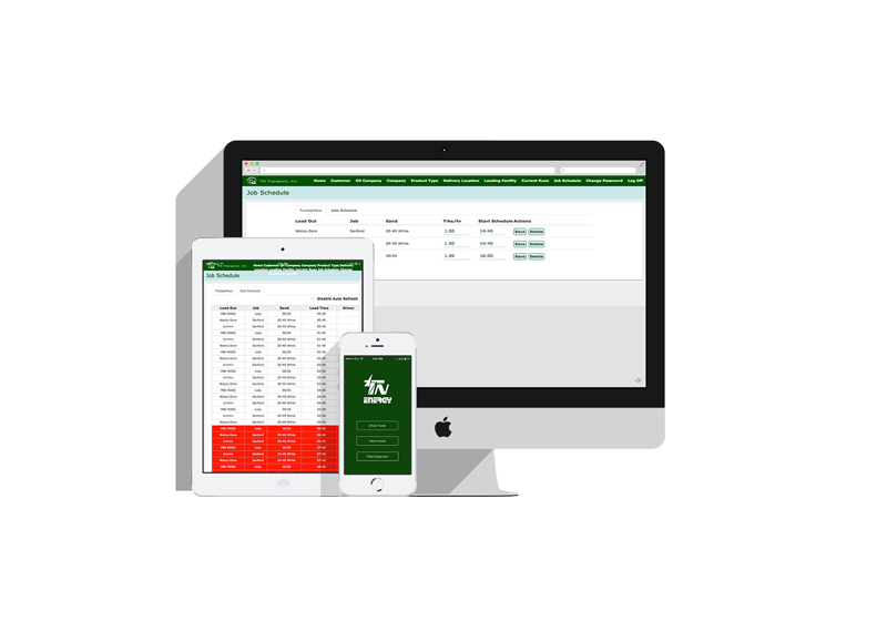 Custom Transport Dispatch Software
