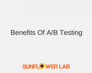 ab testing | sunflower lab