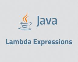 java lambda expressions