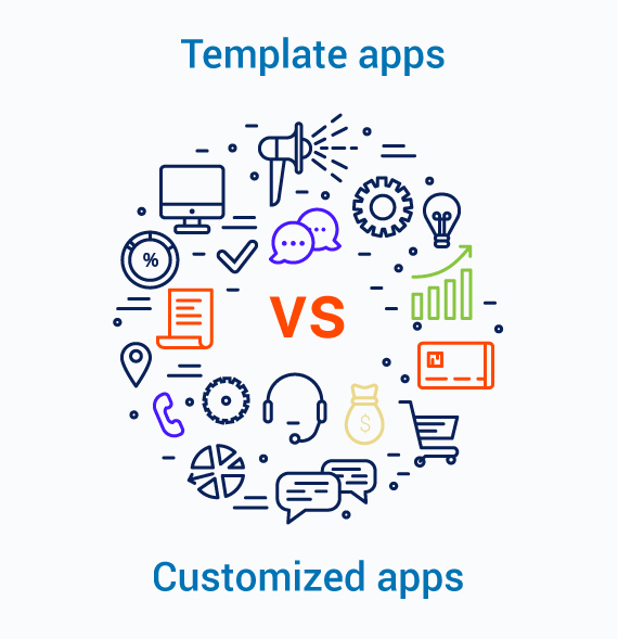 Template apps