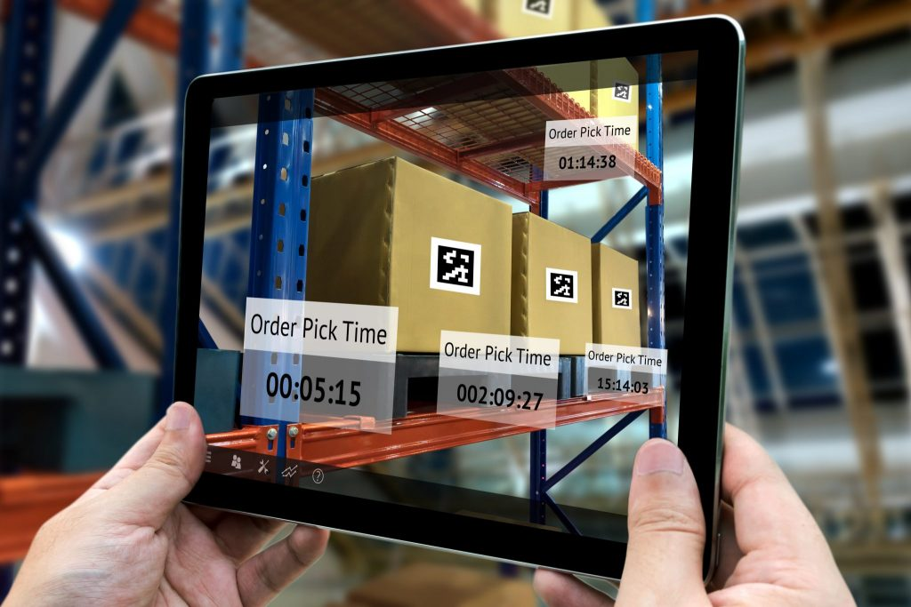 Augmented Reality App Development in Logistics