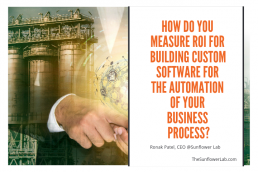How do you measure ROI for building custom software for the automation of your business process_