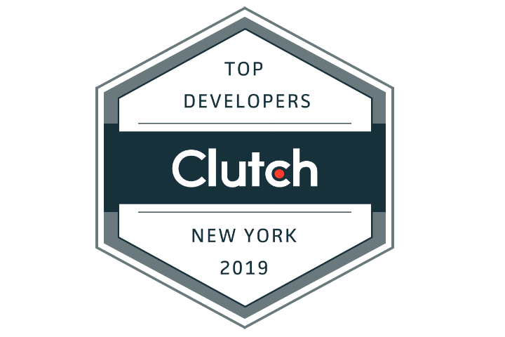 NYC Leading Developer by Clutch