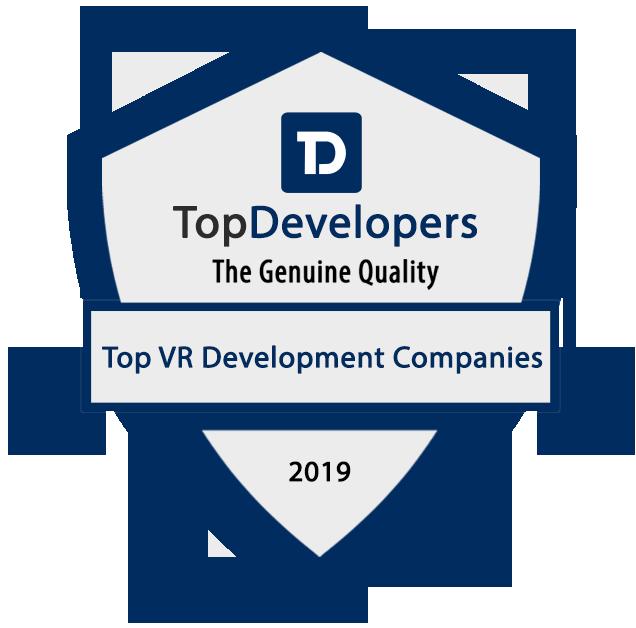 top virtual reality app development company